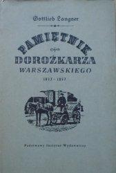 Gottlieb Langner • Pamiętnik dorożkarza warszawskiego 1832-1857 [Konstanty Sopoćko]
