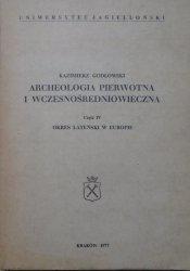 Kazimierz Godłowski • Okres lateński w Europie [Archeologia pierwotna i wczesnośredniowieczna]