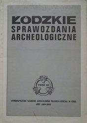 Łódzkie sprawozdania archeologiczne tom IX