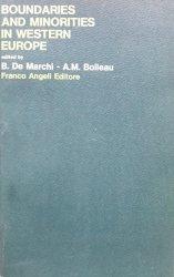 Anna Maria Boileau, Bruna De Marchi • Boundaries And Minorities In Western Europe