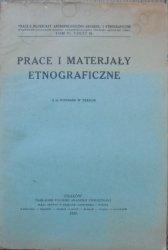 Prace i materiały etnograficzne tom IV część III 1925 • [dwory, dzwony pasterskie, Podhale, Bystroń]