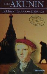 Boris Akunin • Lektura nadobowiązkowa