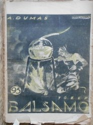 A. Dumas • Józef Balsamo X. Oprawa Berezowska