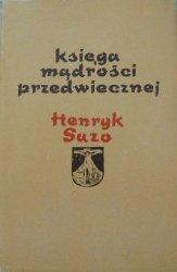 Henryk Suzo • Księga mądrości przedwiecznej