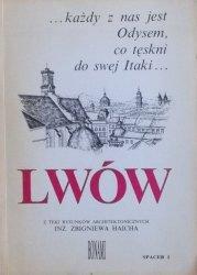 Z teki rysunków architektonicznych Zbigniewa Haicha • Lwów