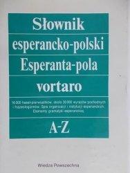 Tadeusz J. Michalski • Słownik esperancko-polski A-Z