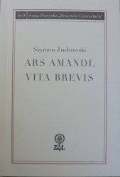 Szymon Żuchowski • Ars Amandi, Vita Brevis