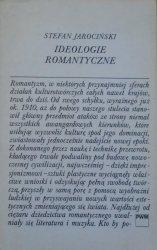 Stefan Jarociński • Ideologie romantyczne. 5 esejów o związkach muzyki z przemianami kultury