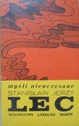 Stanisław Jerzy Lec • Myśli nieuczesane [Barbara Konarzewska]