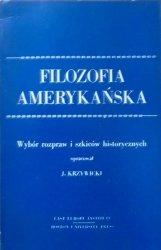 wybór Jerzy Krzywicki • Filozofia amerykańska. Wybór rozpraw i szkiców historycznych [Ernest Nagel, Williard Quine]