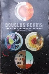 Douglas Adams • The Hitchhiker's Guide to the Galaxy. The Trilogy of Four [komplet]