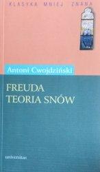 Antoni Cwojdziński • Freuda teoria snów