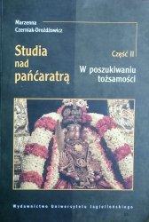 Marzenna Czerniak-Drożdżowicz • Studia nad pancaratrą 2. W poszukiwaniu tożsamości