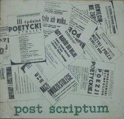 Post scriptum • 'Orientacja Poetycka Hybrydy' i Kolegium 'Widzeń'