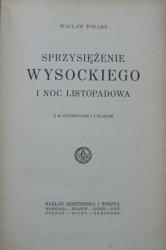 Wacław Tokarz • Sprzysiężenie Wysockiego i Noc Listopadowa [1925]
