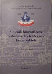 red. Jan Strzałka • Słownik biograficzny zasłużonych elektryków krakowskich