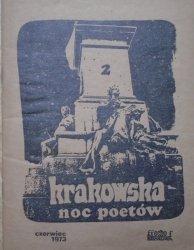 Krakowska Noc Poetów 2 czerwiec 1973 • [Zagajewski, Kozioł, Krynicki, Kawiński i inni]