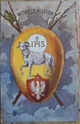 pocztówka Wesołego Alleluja [1935]