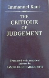 Immanuel Kant • The Critique of Judgement