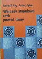 Romuald Frey, Janusz Pęksa • Warcaby stupolowe czyli powrót damy