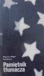 Maurice-Edgar Coindreau • Pamiętnik tłumacza