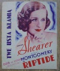 program filmowy • Twe usta kłamią [Norma Shearer, Robert Montgomery]