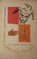 Stanisław Jerzy Lec • Z tysiąca i jednej fraszki [dedykacja autora]