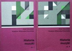 Józef M. Chomiński • Historia muzyki [komplet]