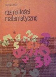 Cecylia Rauszer • Rozmaitości matematyczne