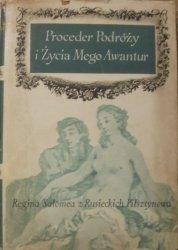 Regina Salomea z Rusieckich Pilsztynowa • Proceder Podróży i Życia Mego Awantur