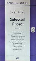 T.S. Eliot • Selected Prose