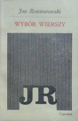 Jan Rostworowski • Wybór wierszy