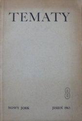 Tematy 8/1963 • Poezja amerykańska
