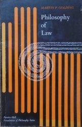 Martin P. Golding • Philosophy of Law [dedykacja autorska]
