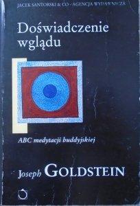 Joseph Goldstein • Doświadczenie wglądu. ABC buddyjskiej medytacji