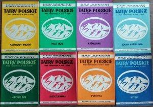 Tatry Polskie • Mapy topograficzne [komplet]