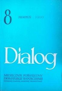 Dialog 8/1980 • [Sławomir Mrożek, Robert Musil, Martin Esslin]