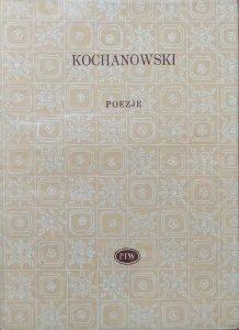Jan Kochanowski • Poezje [Biblioteka Poetów]
