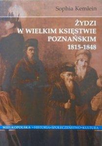 Sophia Kemlein • Żydzi w Wielkim Księstwie Poznańskim 1815-1848