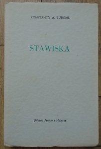 Konstanty A. Luboml • Stawiska [OPiM]