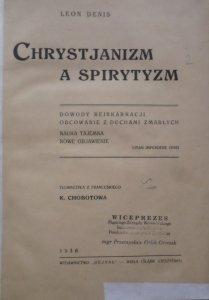 [klocek] Chrystjanizm a spirytyzm. Astrologia a małżeństwo. Teologja i Antyteologja. Jasnowidzenie