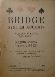 Baron H. Accurti • Bridge. Najnowszy system licytacyjny [1937]