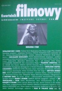 Kwartalnik filmowy 49-50 2005 • Ideologia i film