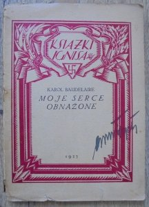 Karol Baudelaire • Moje serce obnażone [1923]