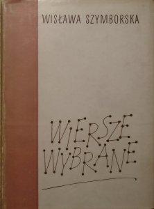 Wisława Szymborska • Wiersze wybrane [Aleksander Stefanowski]