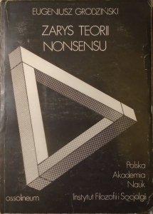 Eugeniusz Grodziński • Zarys teorii nonsensu [Husserl, semantyka]