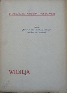 Franciszek Xawery Pusłowski • Wigilja [1910]