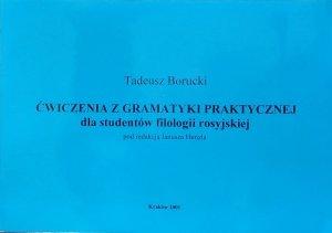 Tadeusz Borucki • Ćwiczenia z gramatyki praktycznej