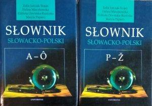 Zofia Jurczak Trojan • Słownik słowacko-polski [komplet]