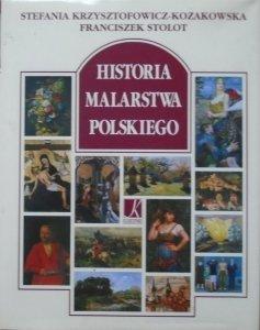 Stefania Krzysztofowicz-Kozak<br />owska, Franciszek Stolot • Historia malarstwa polskiego